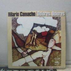 Discos de vinilo: HILARIO CAMACHO - DOLORES DOLORES / PRINCESA DE CERA - MOVIEPLAY 1975. Lote 48339829