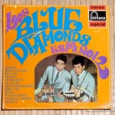 Discos de vinilo: LOS BLUE DIAMONDS EN ESPAÑOL. FONTANA. 1969.. Lote 48341047