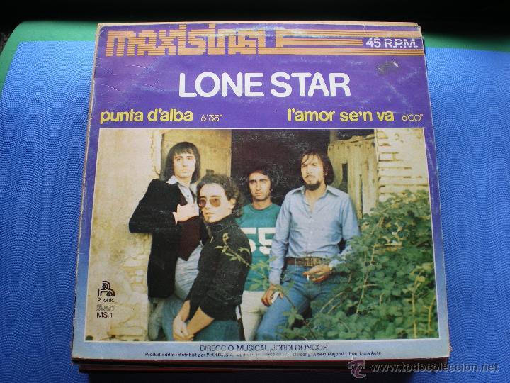LONE STAR PUNTA D'ALBA MAXI 1997 CARATULA BUENA/CON ROCES.VINILO NUEVO.2TEMAS+DE 12'.PHONIC.PDELUXE (Música - Discos de Vinilo - Maxi Singles - Grupos Españoles de los 70 y 80)