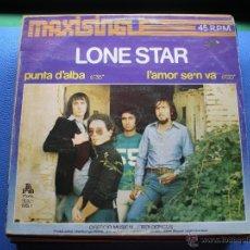 Discos de vinilo: LONE STAR PUNTA D'ALBA MAXI 1997 CARATULA BUENA/CON ROCES.VINILO NUEVO.2TEMAS+DE 12'.PHONIC.PDELUXE. Lote 48343161