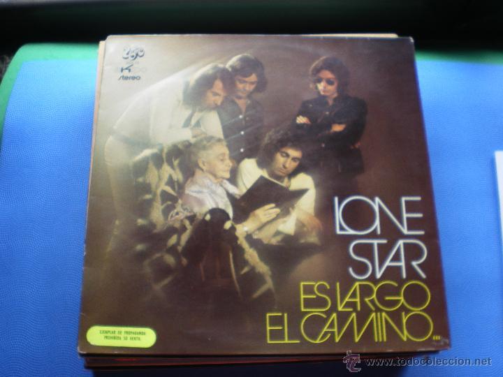 LONE STAR ES LARGO EL CAMINO LP 1972 LABEL EKIPO ROJO.PROMOCIONAL. GATEFOLD PDELUXE (Música - Discos - LP Vinilo - Grupos Españoles de los 70 y 80)