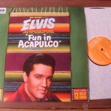 Discos de vinilo: ELVIS PRESLEY ORIGINAL SOUNDTRACK FUN IN ACAPULCO. MADE IN ENGLAND 1970. Lote 48343547