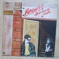 Discos de vinilo: RAMONCIN - ARAÑANDO LA CIUDAD 1981 HISPAVOX DOBLE PORTADA. Lote 48344405
