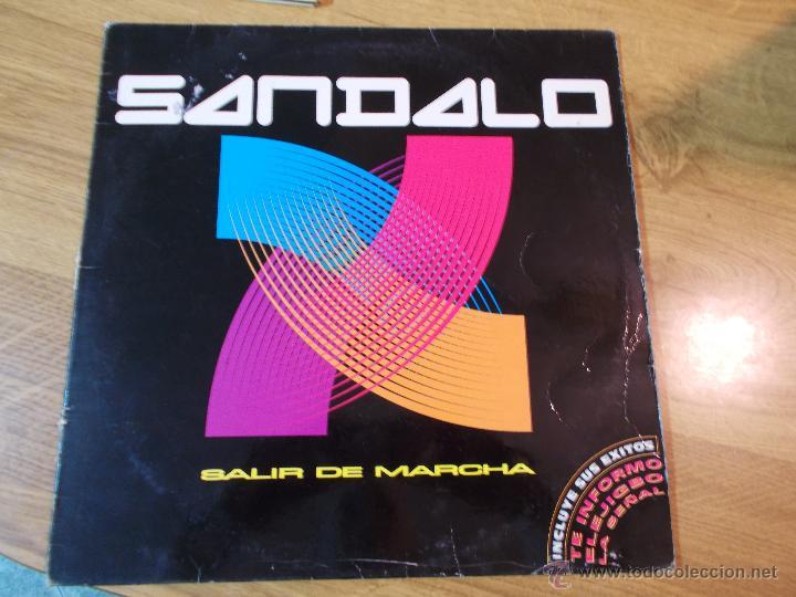 SANDALO.SALIR DE MARCHA (Música - Discos - LP Vinilo - Grupos Españoles de los 90 a la actualidad)