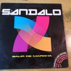 Discos de vinilo: SANDALO.SALIR DE MARCHA. Lote 48348620