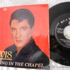 Discos de vinilo: ELVIS PRESLEY-EP CRYING IN THE CHAPEL +3-1965. Lote 48351789