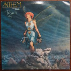 Discos de vinilo: TOYAH - ANTHEM - 1981. Lote 48352323