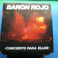 Discos de vinilo: BARON ROJO CONCIERTO PARA ELLOS SINGLE 1984.PROMOCIONAL ZAFIRO. PDELUXE. Lote 48354573