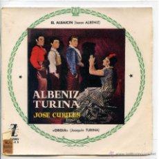 Dischi in vinile: JOSE CUBILES / EL ALBAICIN / ORGIA (EP). Lote 48354915
