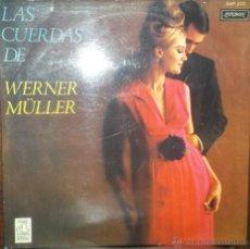 Discos de vinilo: LP DE WERNER MULLER Y SU ORQUESTA AÑO 1970 EDICIÓN ARGENTINA COPIA PROMOCIONAL. Lote 32787212