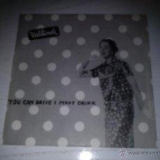 Discos de vinilo: V BELLINDA - YOU CAN DRIVE I MUST DRINK - PUNK ROCK ALEMAN GERMAN. Lote 48363693