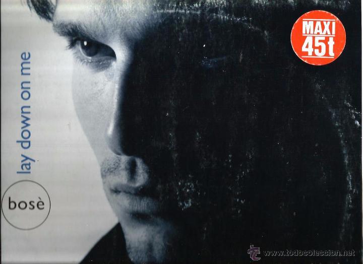 MAXI MIGUEL BOSE : LAY DOWN ON ME ( EXTENDED VERSION ) (Música - Discos de Vinilo - Maxi Singles - Solistas Españoles de los 70 a la actualidad)