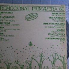 Discos de vinilo: LP PROMOCIONAL PRIMAVERA '80-VARIOS-AC DC... Lote 48366531