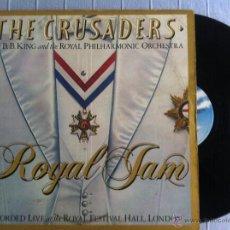 Discos de vinilo: LP DOBLE-THE CRUSADERS-ROYAL JAM-USA. Lote 48366869