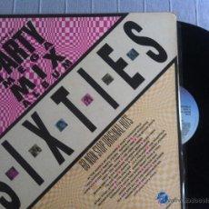 Discos de vinilo: LP DOBLE-PARTY MEGA MIX-SIXTIES-VARIOS. Lote 48366916