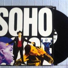Discos de vinilo: LP SOHO NOISE-THE FIRST SOHO LP IS NOISE. Lote 48367343