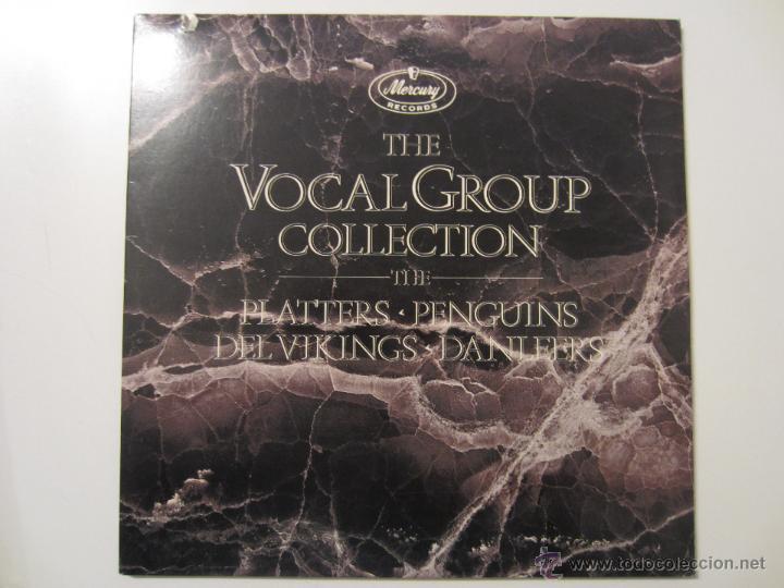 THE VOCAL GROUP COLLECTION PLATTERS PENGUINS DEL VIKINGS DANLEERS DOO WOP DOBLE LP MERCURY RECORDS (Música - Discos - LP Vinilo - Rock & Roll)