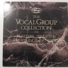 Discos de vinilo: THE VOCAL GROUP COLLECTION PLATTERS PENGUINS DEL VIKINGS DANLEERS DOO WOP DOBLE LP MERCURY RECORDS. Lote 48372432