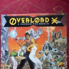 Discos de vinilo: OVERLORD X ?– X VERSUS THE WORLD - LP VINILO - BUEN ESTADO. Lote 48372828