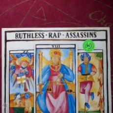 Discos de vinilo: RUTHLESS RAP ASSASSINS - JUSTICE (JUST US) - LP VINILO - HIP-HOP ELECTRO-BUEN ESTADO. Lote 48372859