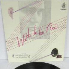 Disques de vinyle: WALDO DE LOS RIOS - EDICION ESPECIAL CAJA DE AHORROS DE BARCELONA - LP - PROMOCIONAL. Lote 48382301