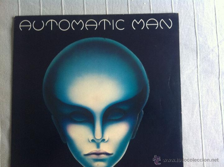 LP SOLO PORTADA-AUTOMATIC MAN (Música - Discos - LP Vinilo - Pop - Rock - Extranjero de los 70)