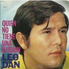 Discos de vinilo: LEO DAN SINGLE SELLO COLUMBIA AÑO 1971 . Lote 48386505