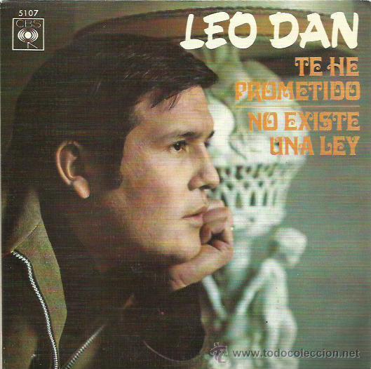 LEO DAN SINGLE SELLO CBS AÑO 1970 (Música - Discos de Vinilo - EPs - Solistas Españoles de los 70 a la actualidad)