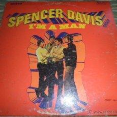 Discos de vinilo: THE SPENCER DAVIS GROUP - I´M A MAN LP - ORIGINAL U.S.A. - U.A. RECORDS 1967 - STEREO -. Lote 48388914