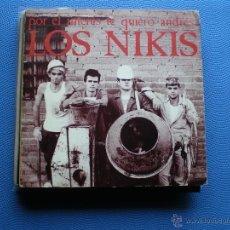 Discos de vinilo: LOS NIKIS POR EL INTERES TE QUIERO ANDRES SINGLE 1989. PDELUXE. Lote 48389958