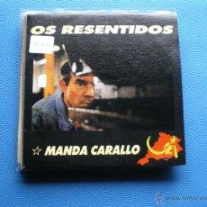 Discos de vinilo: OS RESENTIDOS MANDA CARALLO SINGLE 1990 GASA PDELUXE. Lote 48390583