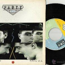 Discos de vinilo: FERNANDISCO & KAKO DJ.PARTY TIME MIX -SINGLE PROMO POR UNA CARA.1987.EN PERFECTO ESTADO. Lote 48391253