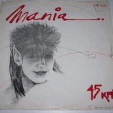 Discos de vinilo: MANIA.TO SAY +1.(CITRA 1984).. Lote 48391508