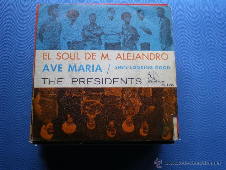 THE PRESIDENTS AVE MARIA SINGLE 1969 PENELOPE DISCOS PDELUXE (Música - Discos - Singles Vinilo - Funk, Soul y Black Music)