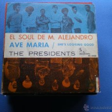 Discos de vinilo: THE PRESIDENTS AVE MARIA SINGLE 1969 PENELOPE DISCOS PDELUXE. Lote 48402738