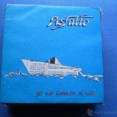 Discos de vinilo: ASFALTO YO ME INVENTO EL MAR SINGLE 1991 DISCOS LIBELULA PDELUXE. Lote 48403314