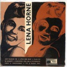 Discos de vinilo: LENA HORNE CON PHIL MOORE / JUST SQUEEZE ME / LITTLE GIRL BLUE + 4 (EP 33RPM). Lote 103915035