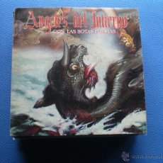 Discos de vinilo: ANGELES DEL INFIERNO CON LAS BOTAS PUESTAS SINGLE 1985 WEA PROMO PDELUXE. Lote 48403988