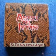 Discos de vinilo: ANGELES DEL INFIERNO SI TU NO ESTAS AQUÍ SINGLE 1988 WEA PROMO PDELUXE. Lote 51658748