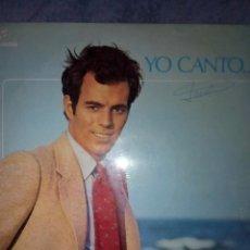 Discos de vinilo: RA . LP_JULIO IGLESIAS_YO CANTO .12 CANCIONES. Lote 206180815