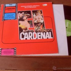 Discos de vinilo: JEROME MOROSS ORIGINAL SOUNDTRACK CARDENAL MADE IN SPAIN 1981 CINEMATRES. Lote 48404943