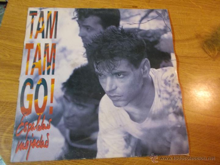TAM TAM GO! ESPALDAS MOJADAS. (Música - Discos - LP Vinilo - Grupos Españoles de los 90 a la actualidad)