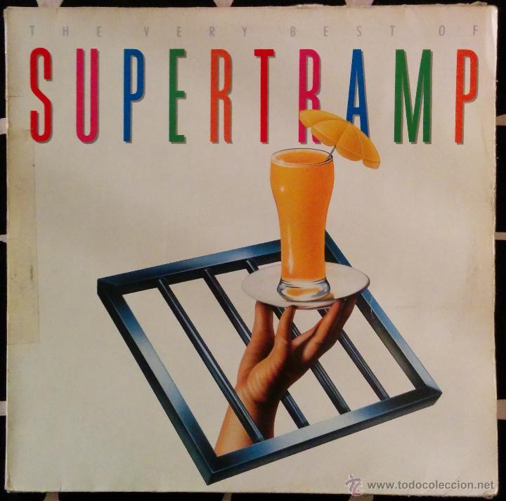 THE VERY BEST OF SUPERTRAMP, DOBLE LP (Música - Discos - LP Vinilo - Pop - Rock - New Wave Extranjero de los 80)