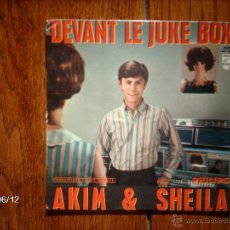 Discos de vinilo: AKIM & SHEILA - DEVANT LE JUKE BOX + 3. Lote 48422530