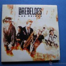 Discos de vinilo: LOS REBELDES LAS REINAS SINGLE 1991 PROMO SOLO CARA A PDELUXE. Lote 48423610