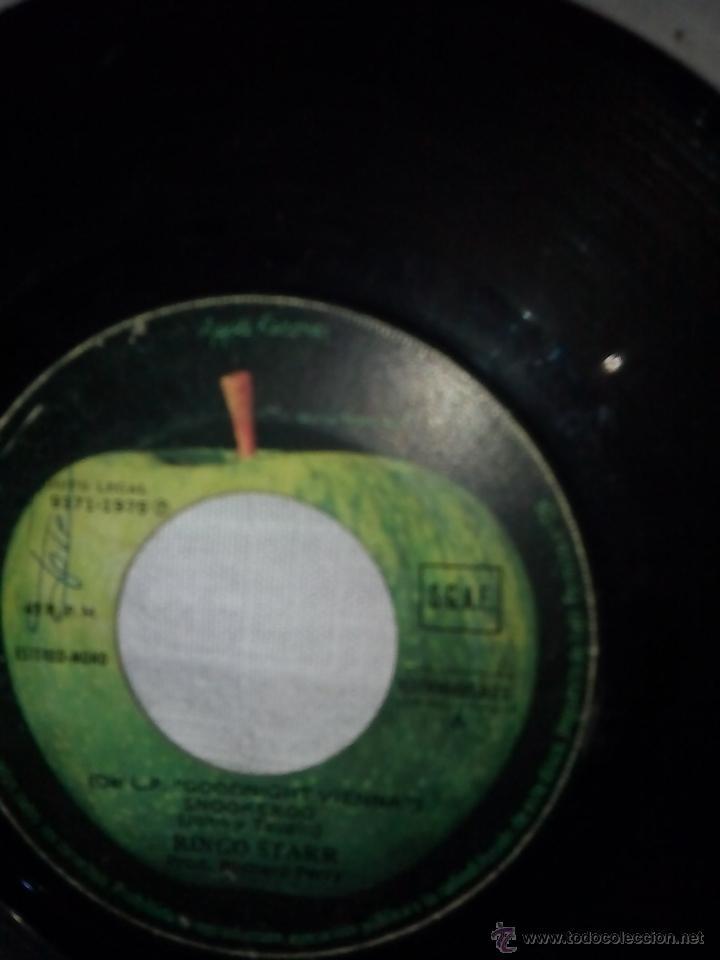 RE1_DISCO VINILO RINGO STARR 2 CANCIONES_SIN FUNDA (Música - Discos - Singles Vinilo - Otros estilos)