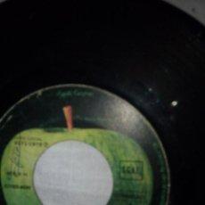 Discos de vinilo: RE1_DISCO VINILO RINGO STARR 2 CANCIONES_SIN FUNDA. Lote 48426570