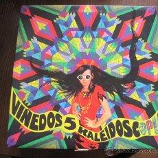 Discos de vinilo: VV.AA. - VIÑEDOS 5 - KALEIDOSCOPIO - COSECHA 1967-71 - LP PHANTASMA 2005 NUEVO - CIRROS, ESTRATAGEMA. Lote 48428400