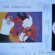 Discos de vinilo: THE CHRISTIANS - '' COLOUR '' LP ORIGINAL SPAIN. Lote 48433386