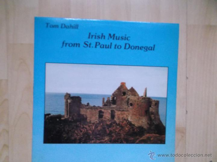 TOM DAHILL - IRISH MUSIC FROM ST. PAUL TO DONEGAL 1989 (Música - Discos - LP Vinilo - Country y Folk)